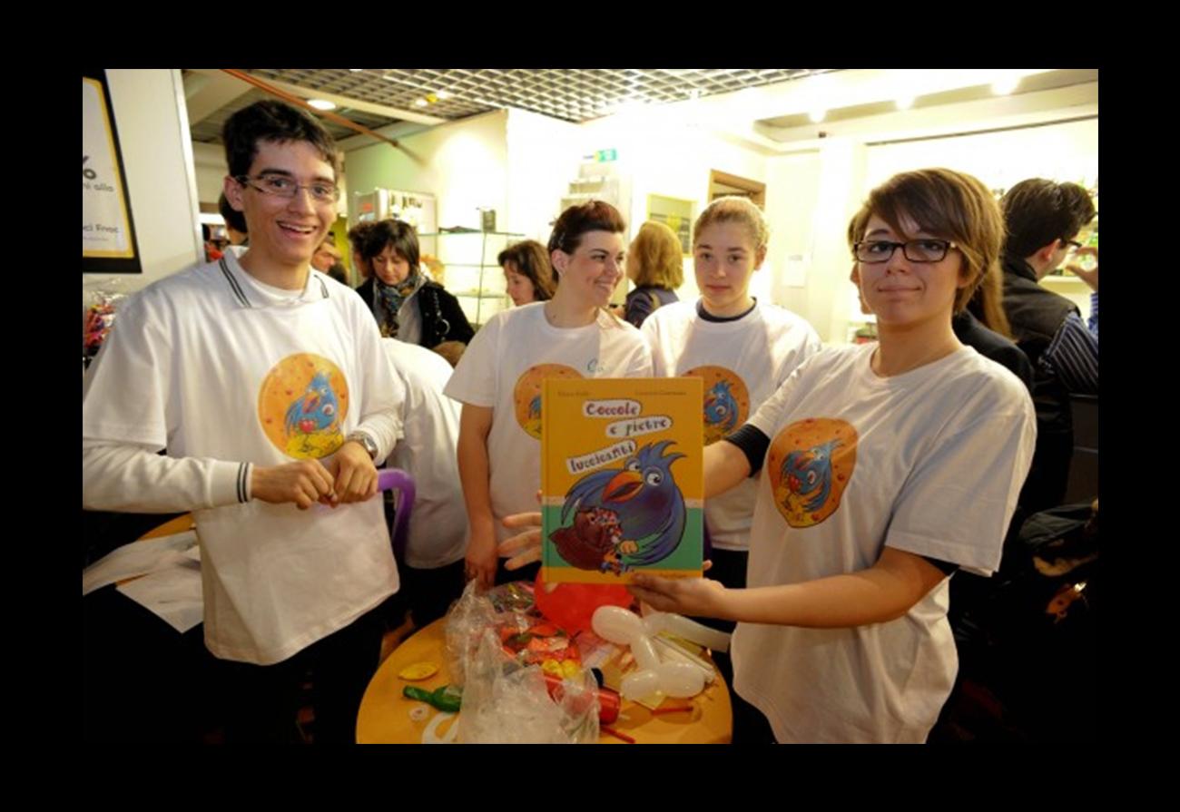 volontari AMRI alla presentazione