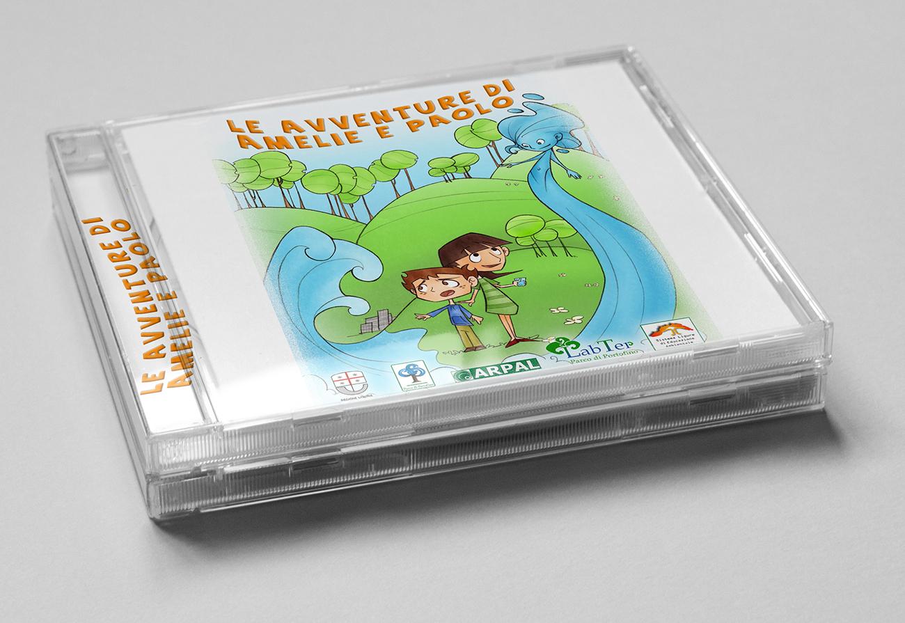 CD (La voce di Amelie è di Lucrezia Giarratana