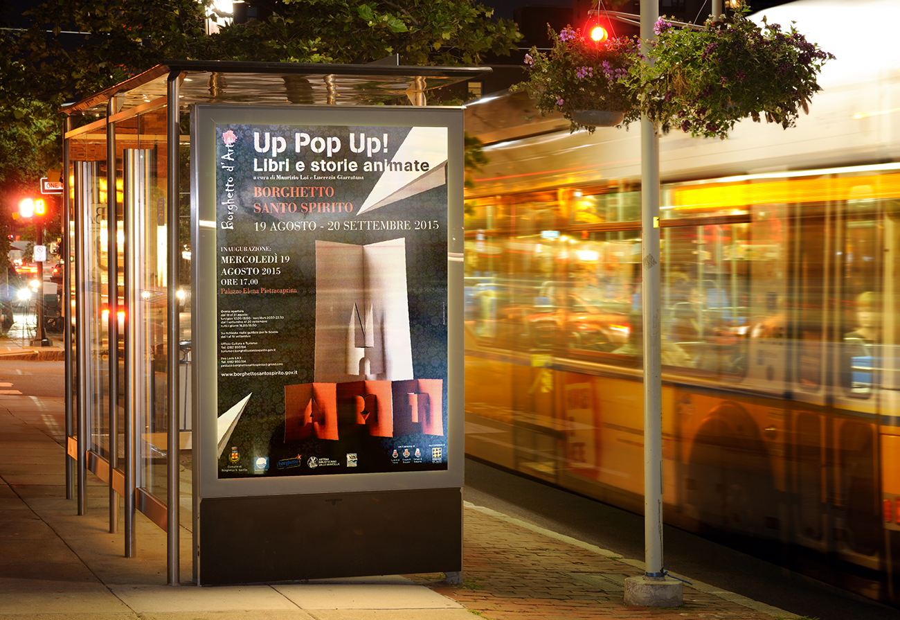 Mostra Up pop-up! Borghettto S. Spirito (SV)