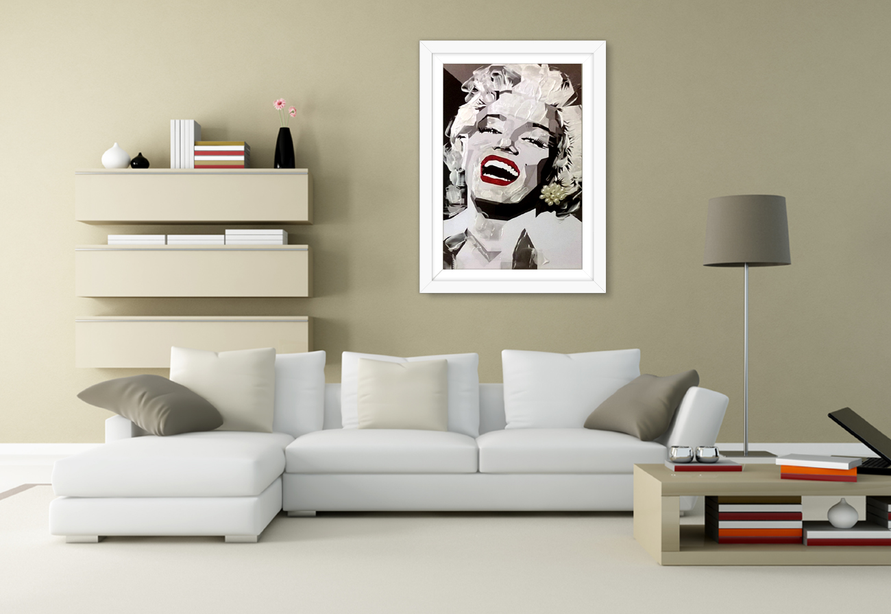 Marylin black & white