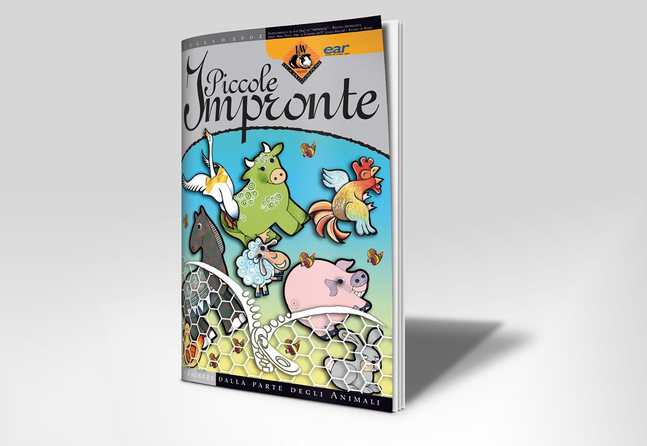 Cover rivista Piccole Impronte