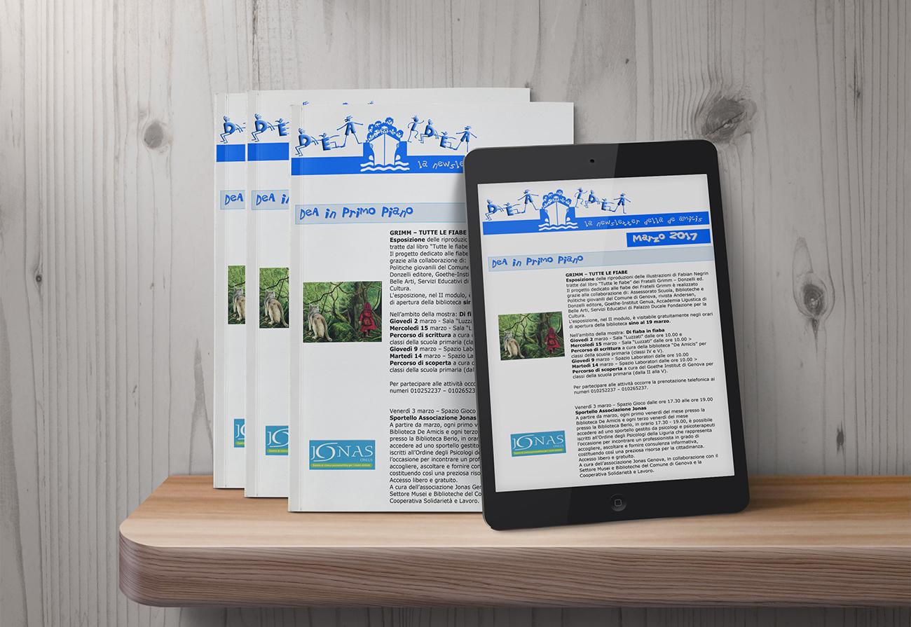 Newsletter cartacea e web