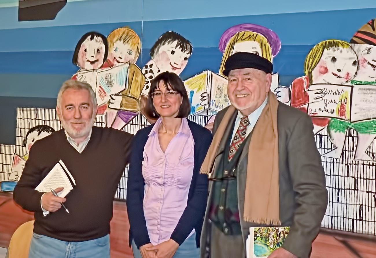 Presentazione libro presso la biblioteca De Amicis di Genova Direttore Dott. Francesco Langella