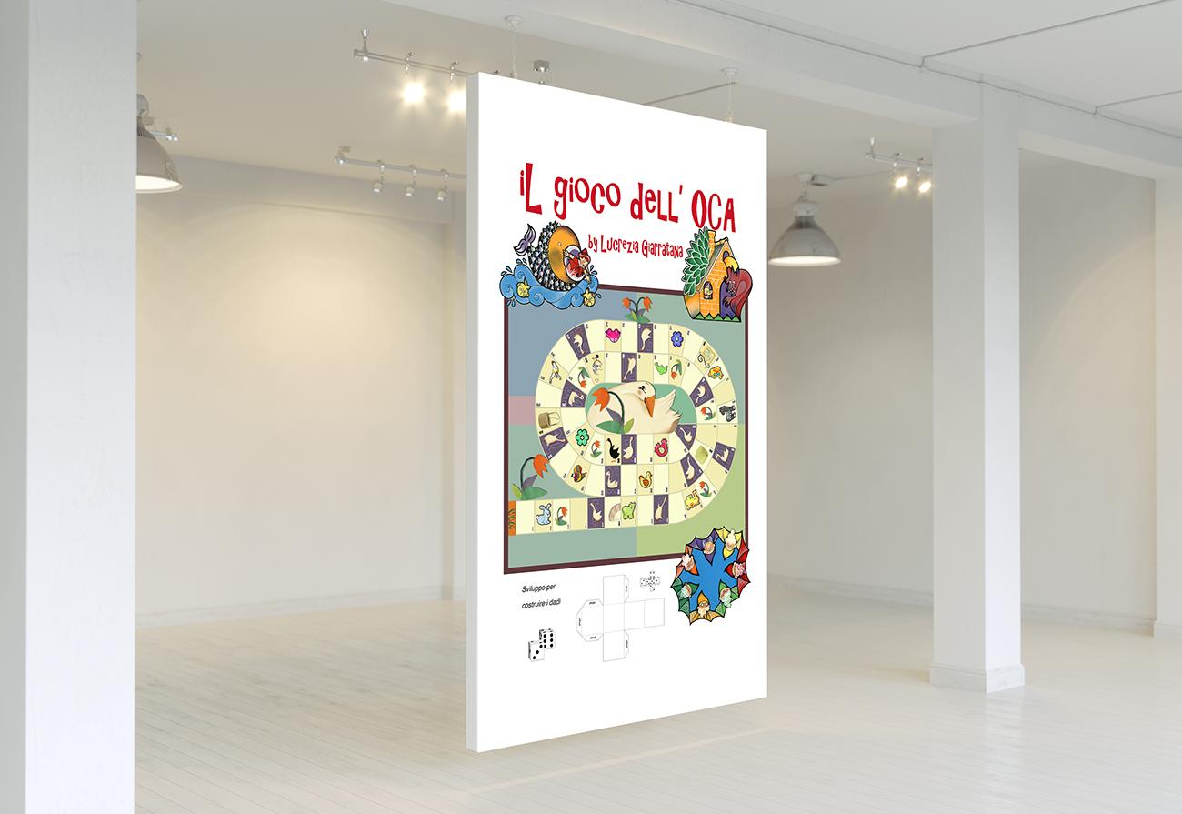 Manifesto/gioco dell'oca