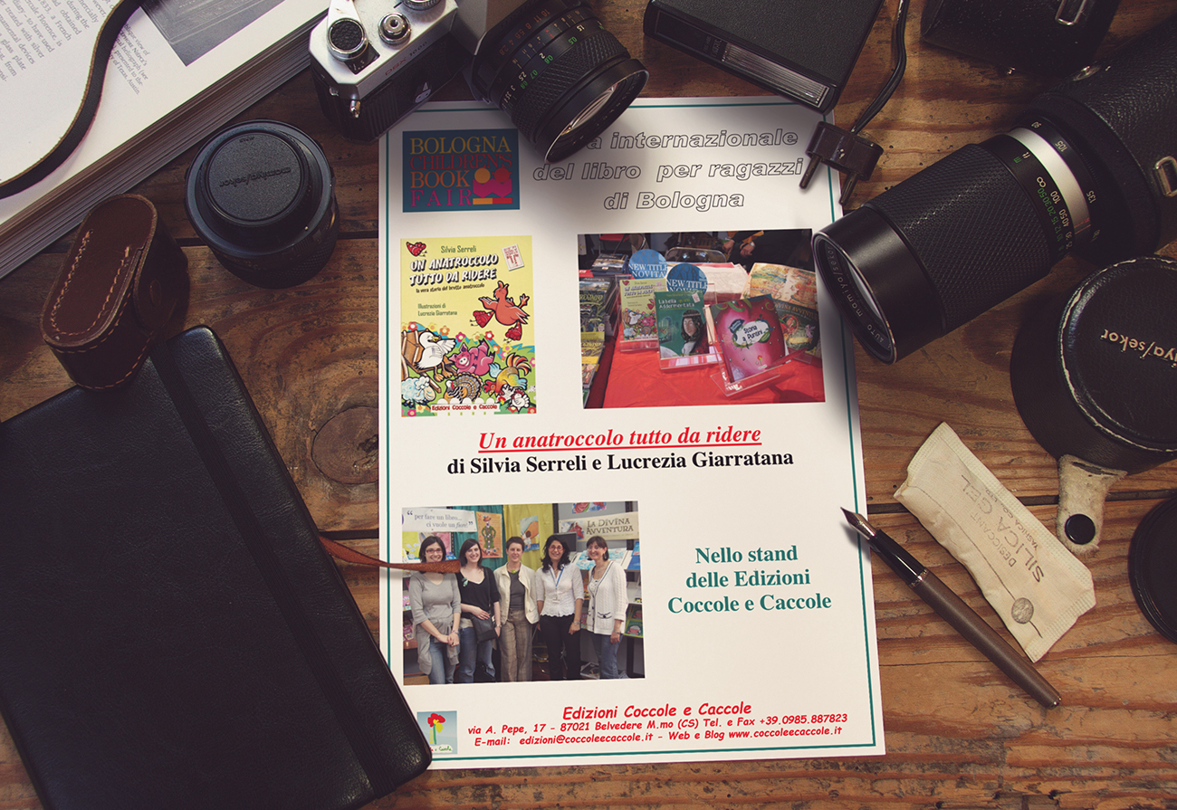 Presentazione libro alla Fiera Internazionale del Libro di Bologna