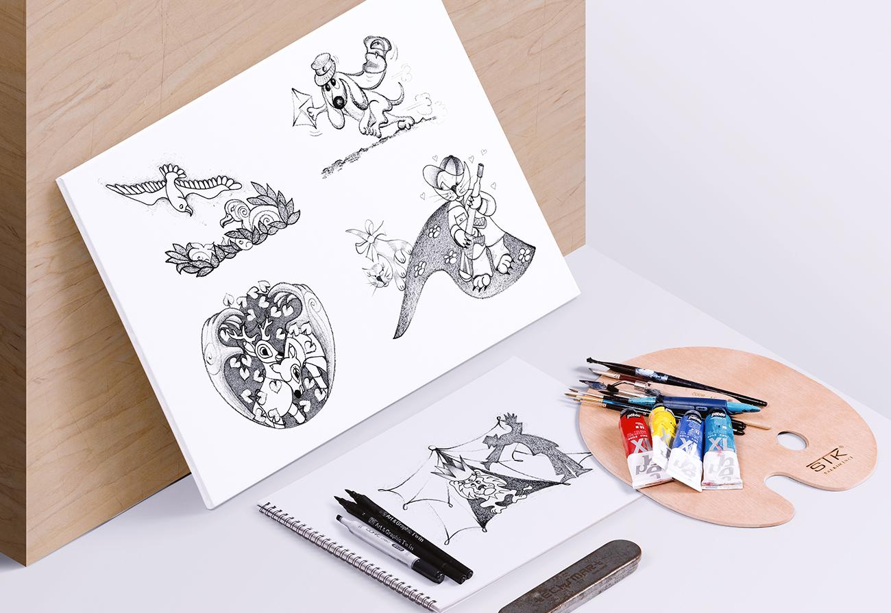 Creazione disegni interni