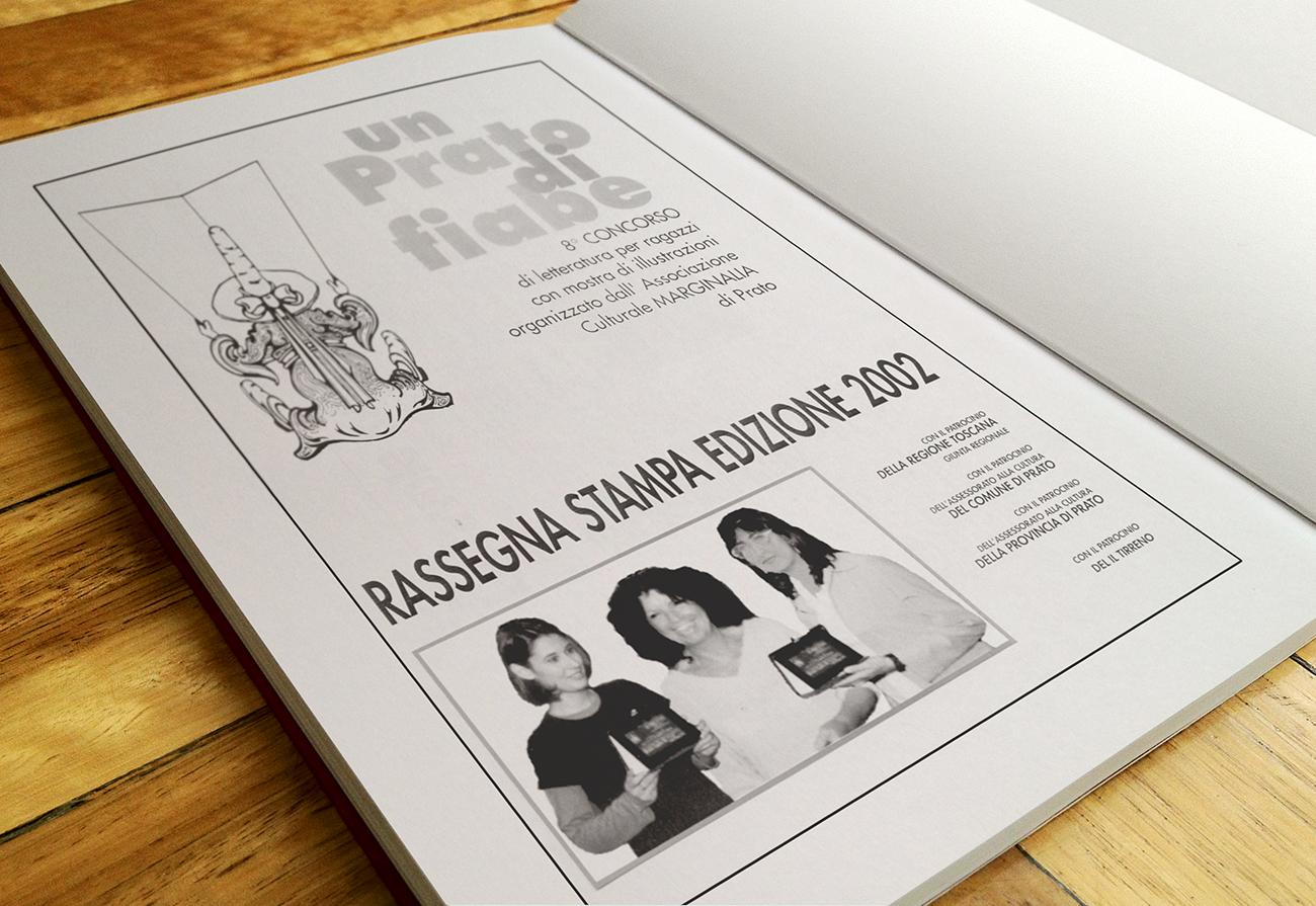 Rassegna stampa con foto premiazione insieme a Silvia Serreli autrice del racconto