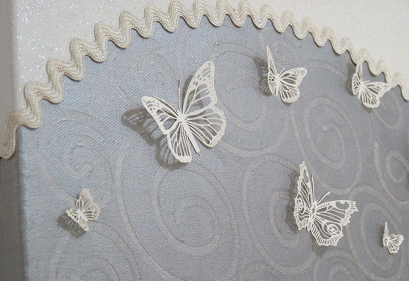 Particolare farfalle