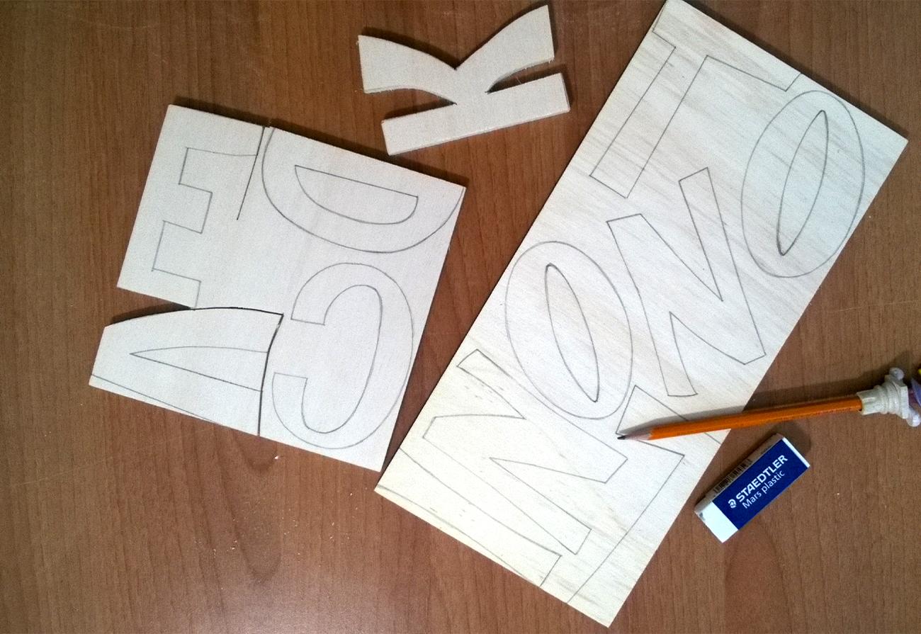 creazione lettere