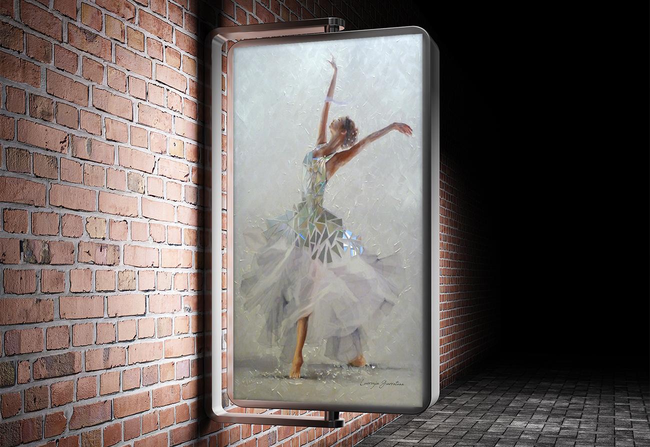 Ballerina ambientata