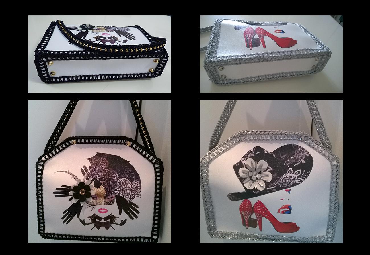 Grafica per borsa da donna