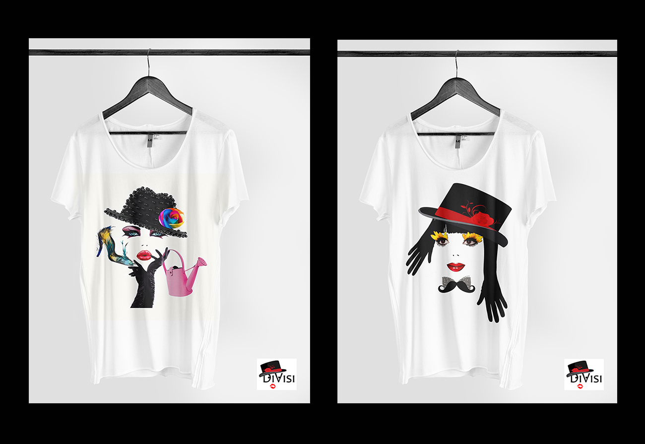 t shirt donna DiVisi