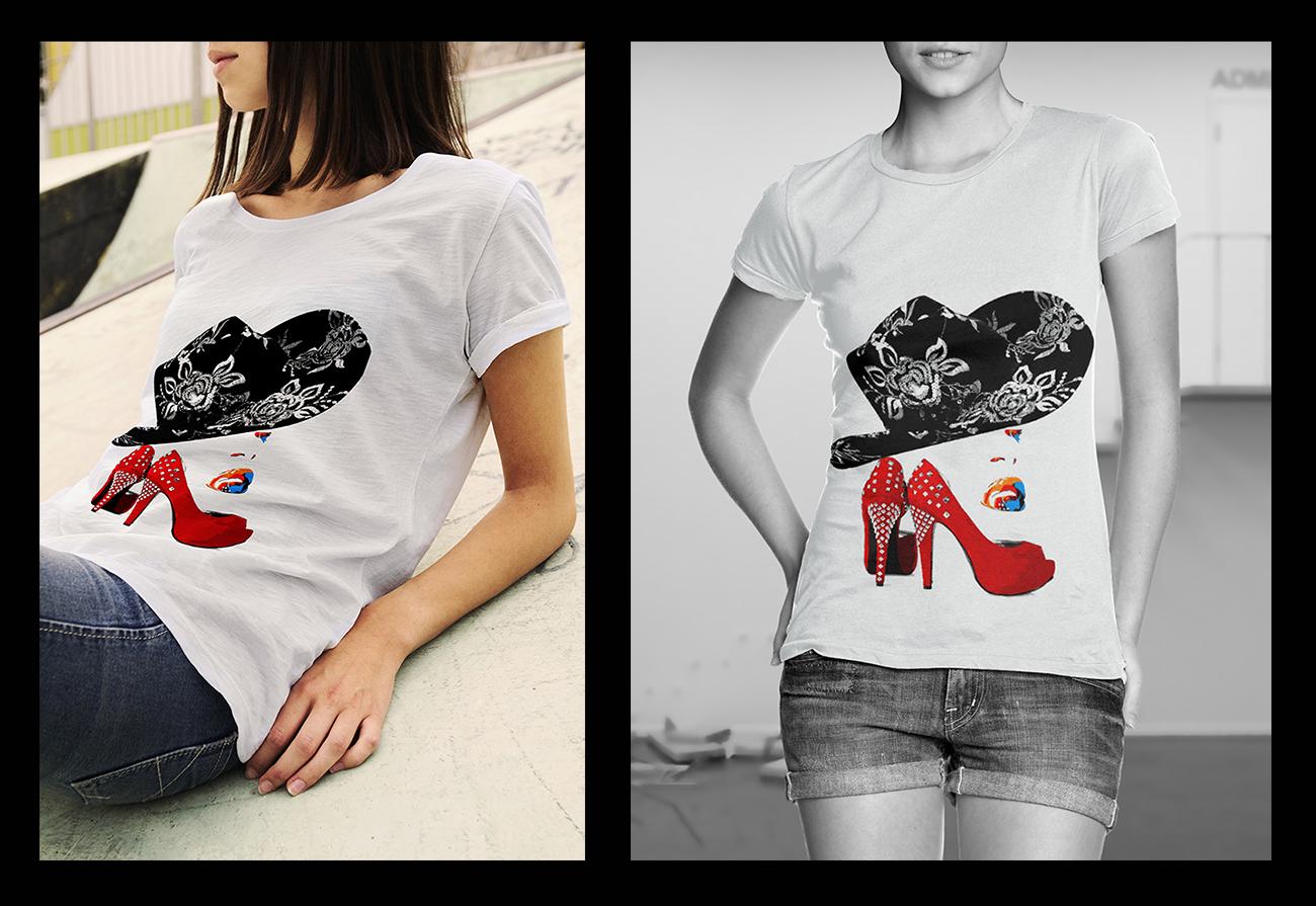 t shirt donna