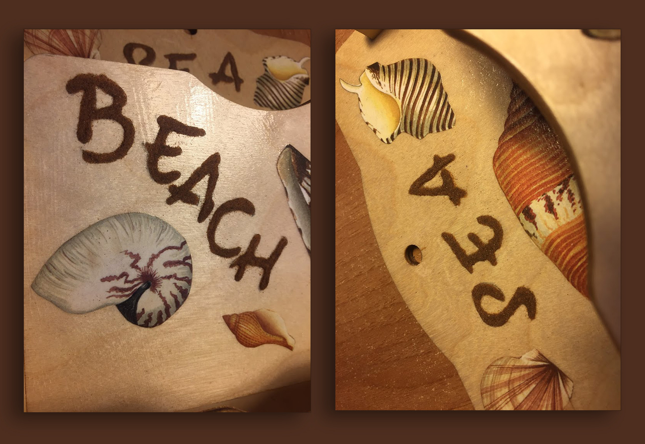 Scritte con la sabbia
