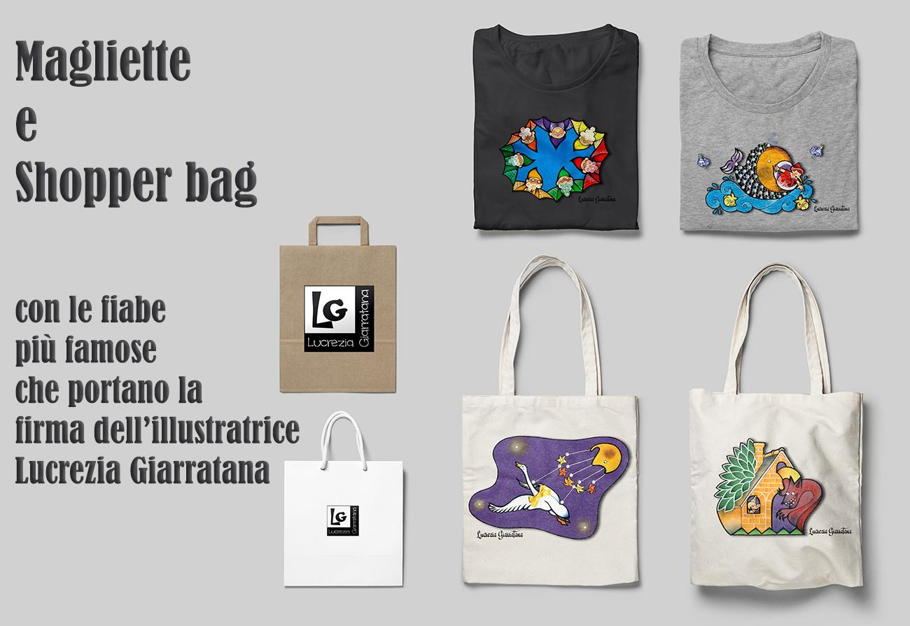magliette e shopperbag